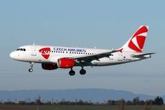 CSA - Τσεχικές αερογραμμές Στοκ εικόνες με δικαίωμα ελεύθερης χρήσης