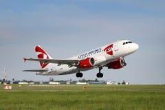 CSA - Чехословакские авиакомпании Стоковое Изображение RF