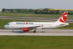 A320 CSA Fotos de Stock
