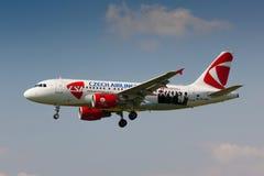 A319 CSA Royaltyfri Fotografi