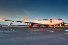 A330 CSA Royaltyfri Fotografi