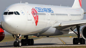 CSA - Czech Airlines Images libres de droits