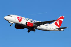 CSA - Czech Airlines Photo libre de droits