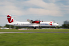 CSA - Czech Airlines Stockfoto