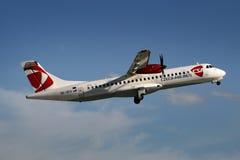 CSA - Czech Airlines Lizenzfreie Stockbilder