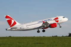 CSA - Czech Airlines Photo stock