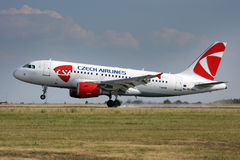 CSA - Czech Airlines Images stock