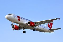 CSA Czech Airlines Airbus A320 Stock Image