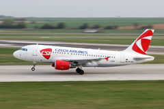 CSA - Czech Airlines Royalty Free Stock Photo