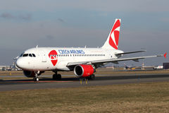 CSA - Czech Airlines Stock Photo