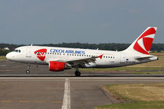 CSA - Czech Airlines Royalty Free Stock Photography