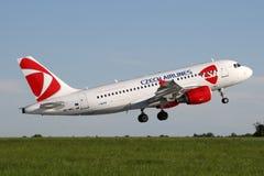CSA - Czech Airlines Stock Photo