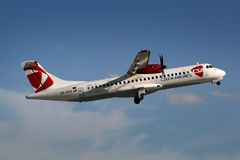 CSA - Czech Airlines Royalty Free Stock Images