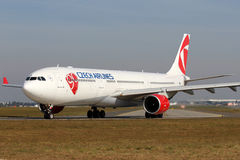 CSA - Czech Airlines Stock Image