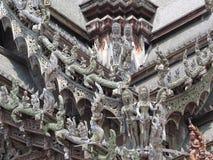 Csarving no santuário da verdade Fotos de Stock Royalty Free