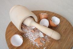 Cáscara de huevos Fotos de archivo libres de regalías