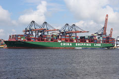 CSCL PACIFIC OCEAN Stock Image
