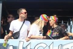 CSD Parade 2018 Hamburg, Germany LGBTIQ Demo stock images