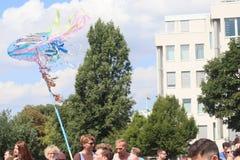 CSD Parade 2018 Hamburg, Germany LGBTIQ Demo royalty free stock photos