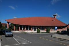 CSENGER, HONGARIJE - CIRCA JULI 2014: Organische Architectuur in Cse Stock Afbeeldingen