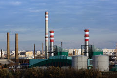 Csepel Power Station in Budapest, Hungary Stock Photo