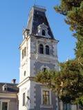 Csernovics城堡- Macea dendrological公园 阿拉德县,罗马尼亚 免版税库存照片
