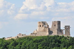 Csesznek castle ruin Royalty Free Stock Photos