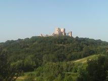 Cseszneki城堡 免版税库存图片
