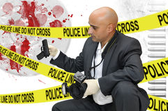 CSI Royalty Free Stock Photography