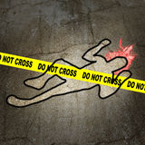 CSI Fotografia Stock Libera da Diritti