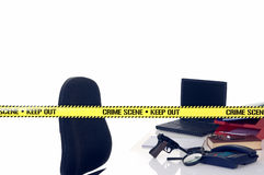 CSI crime scene Royalty Free Stock Photo