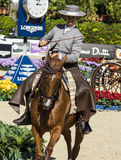 CSIO BARCELONA 2014 - EQUESTRIAN EXHIBITION Stock Photos