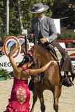 CSIO BARCELONA 2014 - EQUESTRIAN EXHIBITION Stock Images