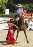 CSIO BARCELONA 2014 - FLAMENCO EQUESTRIAN EXHIBITION Stock Photos