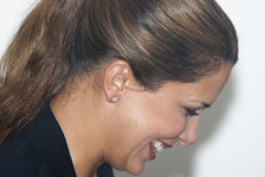 CSIO Barcelona 2013. Princess Haya Royalty Free Stock Photos