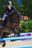CSIO Barcelona, 103rd International Jumping Competition Stock Images