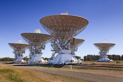 CSIRO 5 telescope array Stock Photography