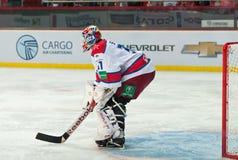 CSKA (莫斯科) Rastislav Stana的守门员 库存照片