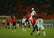 CSKA-FRANCE à Moscou Photo stock