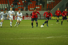 CSKA-FRANCE in Moscow royalty free stock photo