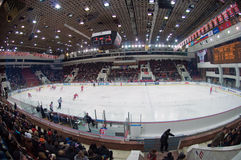 CSKA Ice Palace Arena Royalty Free Stock Photography