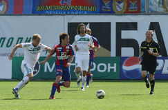 CSKA (Moscow) and FC Terek (Grozny) - (4:1) Royalty Free Stock Image