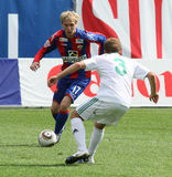 CSKA's Milos Krasic (№17) Stock Images
