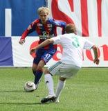 CSKA's Milos Krasic (№17) Stock Images