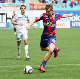 CSKA's Tomash Netsid (№89) Stock Photo