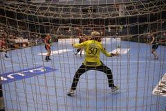 CSM Bucuresti - ` S EHF FRAUEN RK Krim Mercator verficht Liga Stockfotos