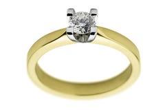 CSP Diamant-Ring Lizenzfreie Stockfotos