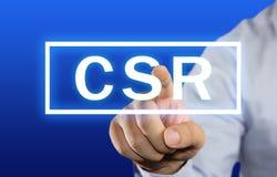 CSR概念 免版税库存照片