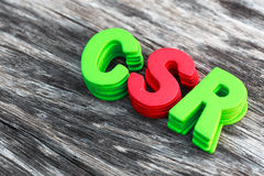 CSR foto de archivo