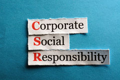 Csr abbreviation Stock Photography